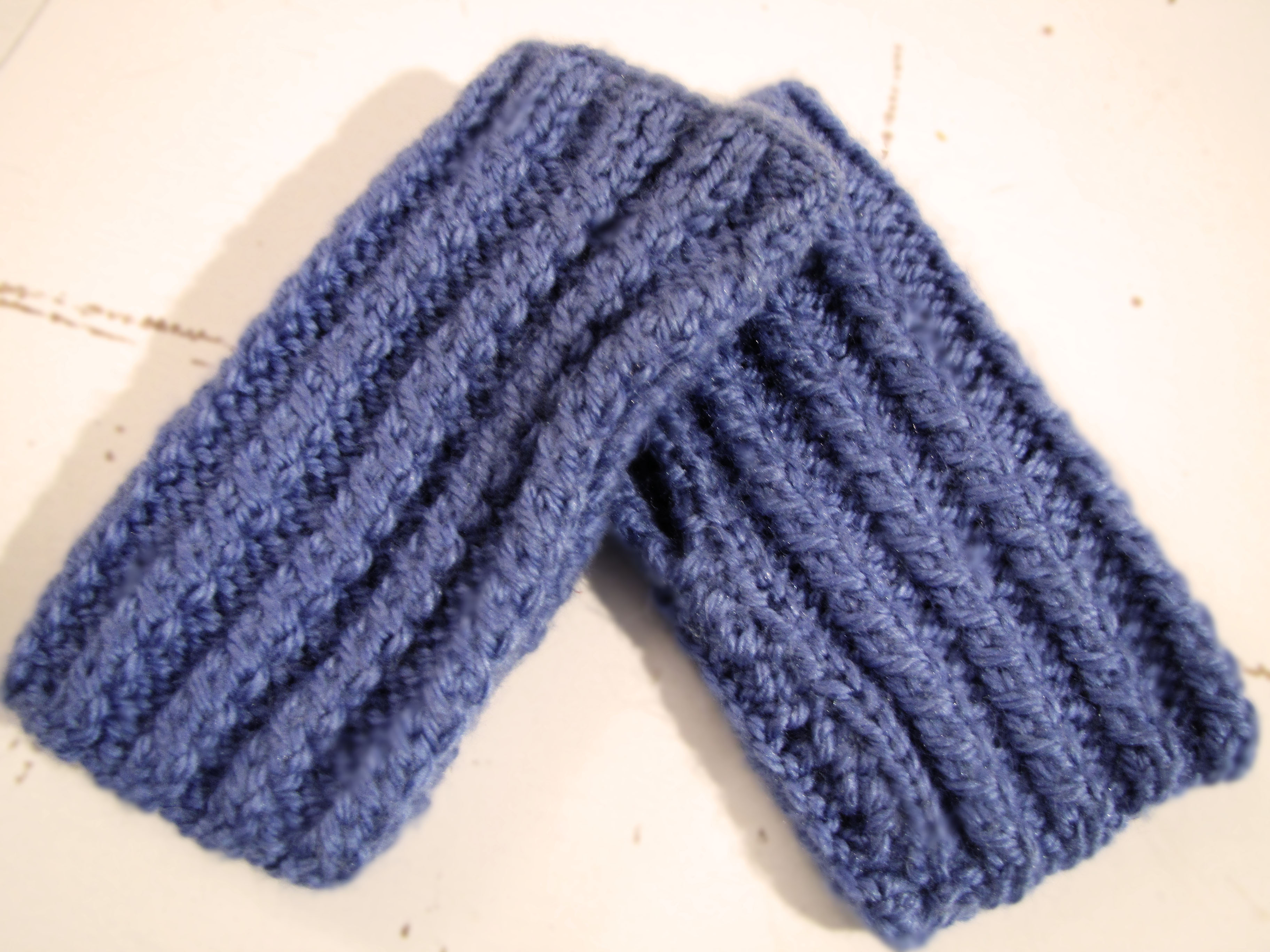 Guantes cortos para aprender a tejer – Learn to knit mittens – Amo tejer