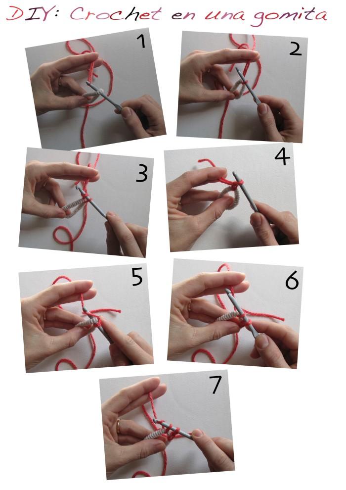Crochet en una gomita