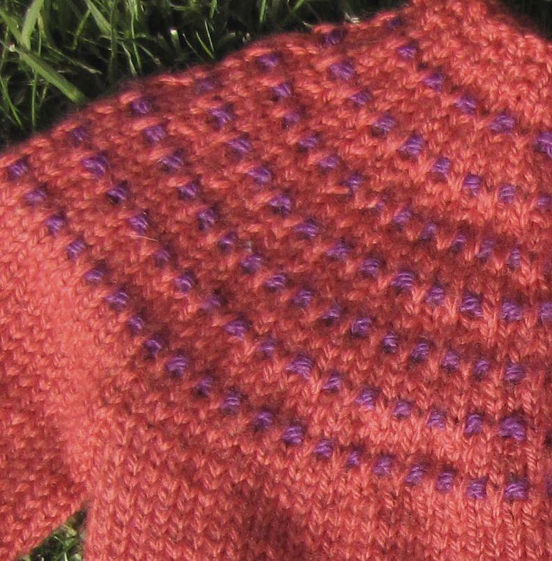 Puntos dos agujas knitting stitches amo tejer - Puntos de dos colores a dos agujas ...