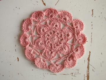 Amo tejer - crochet motif