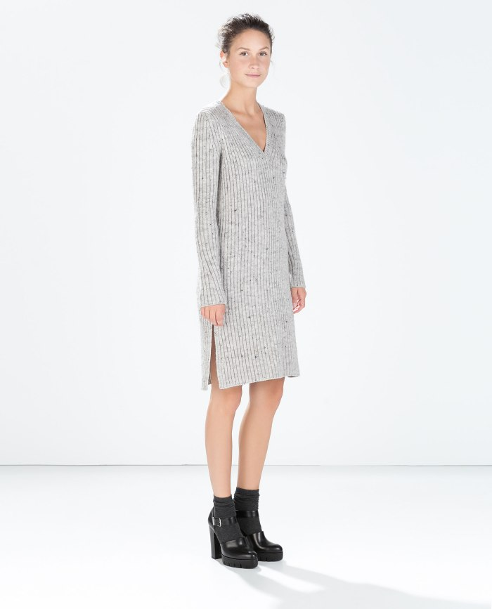 Amo tejer - Zara knitted dress