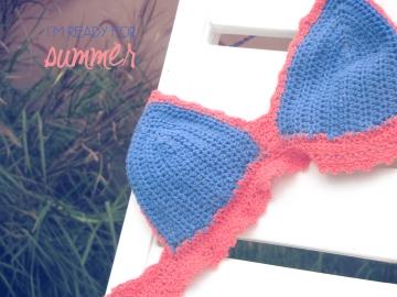 Amo tejer - Bikini al crochet