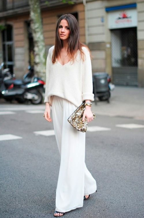 Amo tejer - white oufit